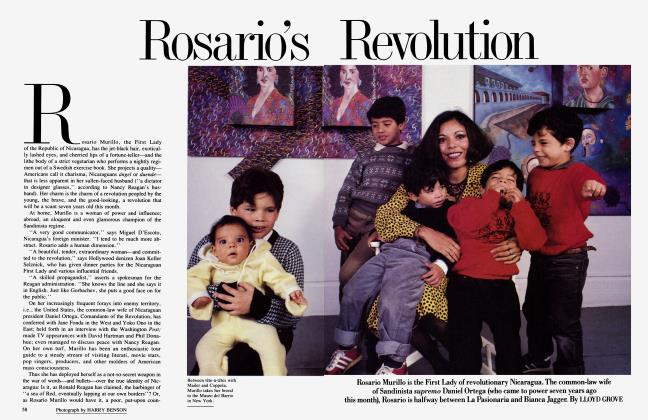 Article Preview: Rosario's Revolution, July 1986 | Vanity Fair