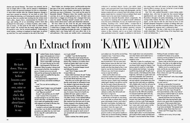 Article Preview: An Extract from 'KATE VAIDEN', July 1986 1986 | Vanity Fair