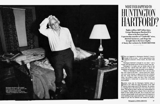 Article Preview: WHAT EVER HAPPENED TO HUNTINGTON HARTFORD?, July 1986 1986 | Vanity Fair