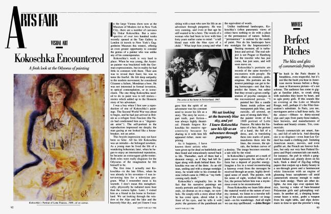 Article Preview: Kokoschka Encountered, July 1986 1986 | Vanity Fair