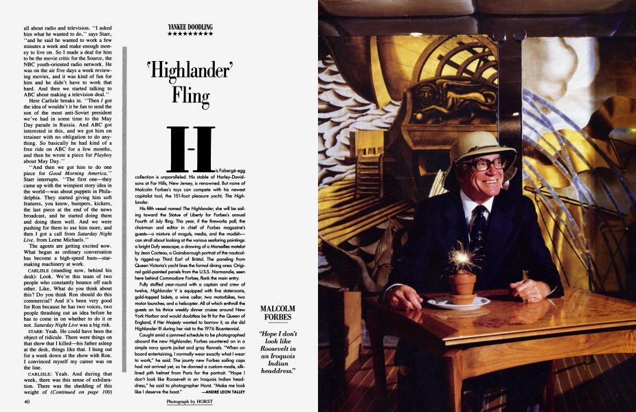 """""""Highlander' Fling"""
