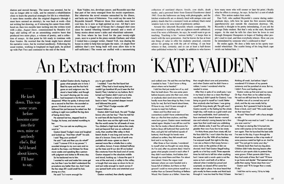 An Extract from 'KATE VAIDEN'