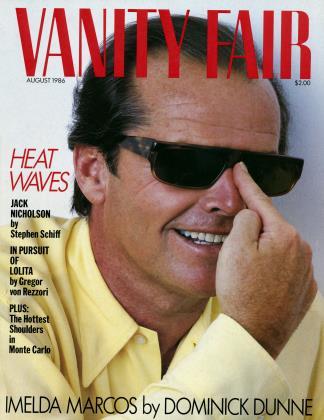 August 1986 | Vanity Fair