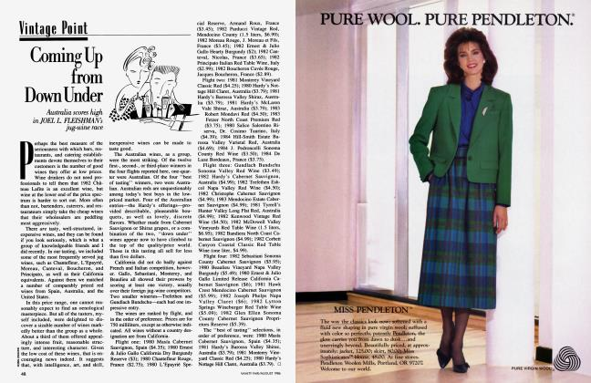 Article Preview: Coming Up from Down Under, August 1986 1986 | Vanity Fair