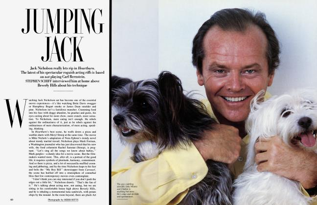 Article Preview: JUMPING JACK, August 1986 1986 | Vanity Fair