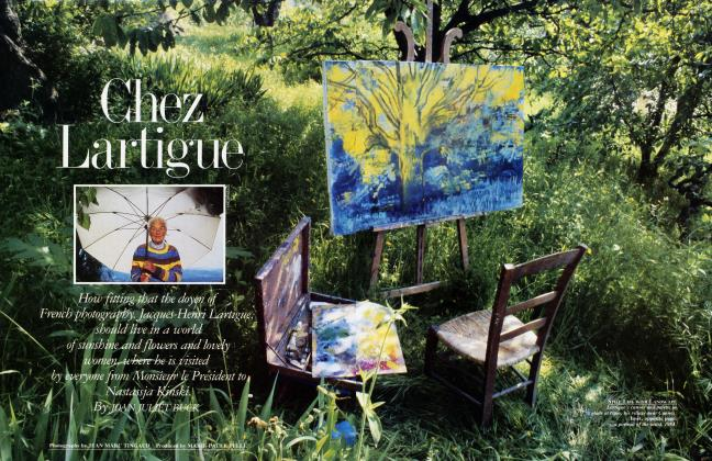 Article Preview: Chez Lartigue, August 1986 1986 | Vanity Fair
