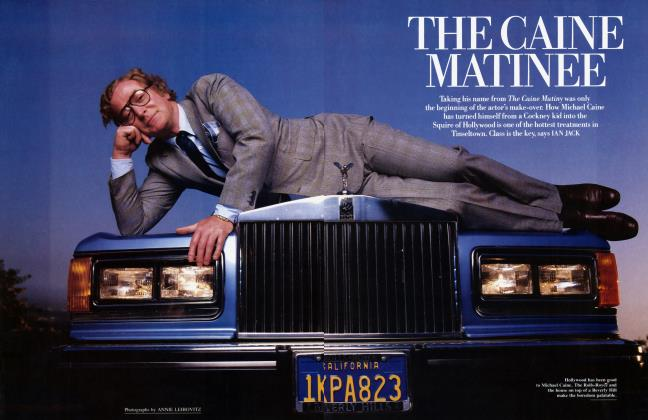 Article Preview: THE CAINE MATINEE, August 1986 1986 | Vanity Fair