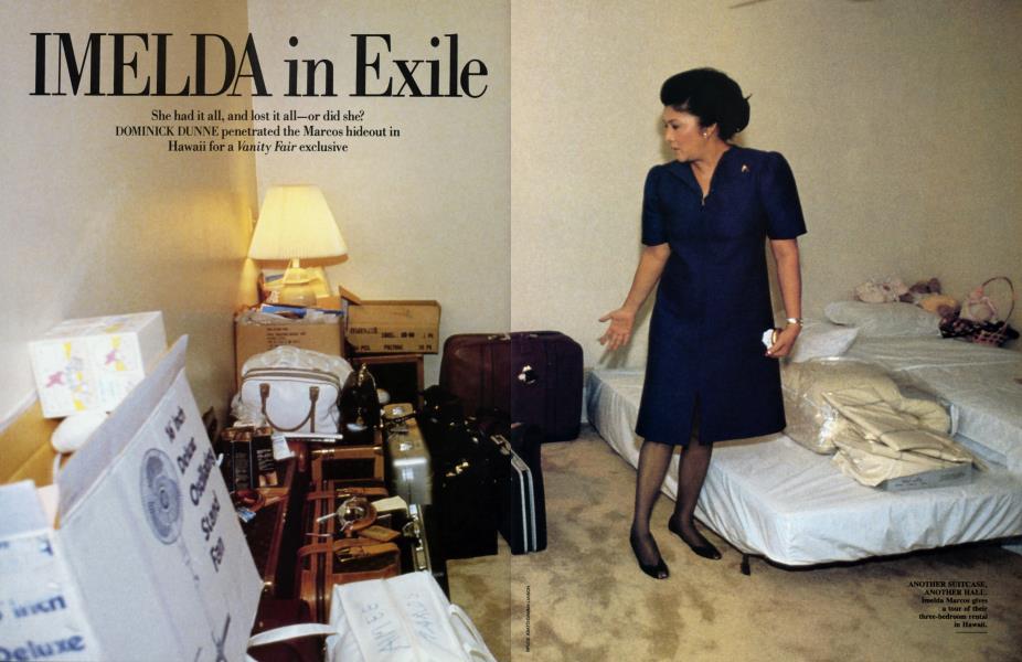Imelda in Exile