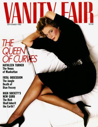 September 1986 | Vanity Fair