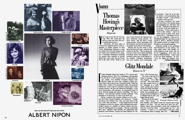 Article Preview: Thomas Hoving's Masterpiece, September 1986 1986 | Vanity Fair