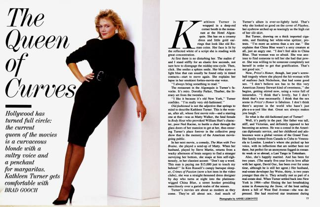 Article Preview: The Queen of Curves, September 1986 1986 | Vanity Fair