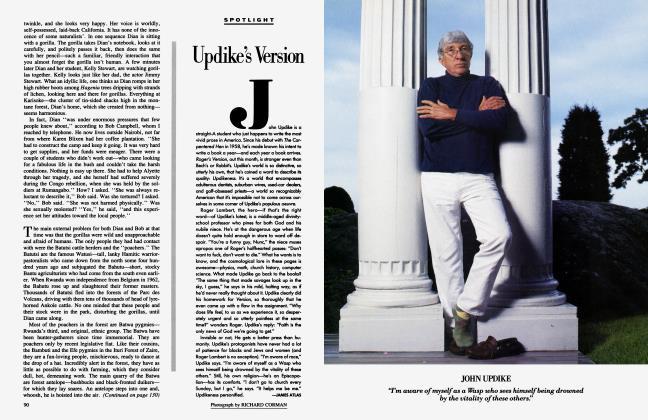 Article Preview: Updike's Version, September 1986 1986 | Vanity Fair