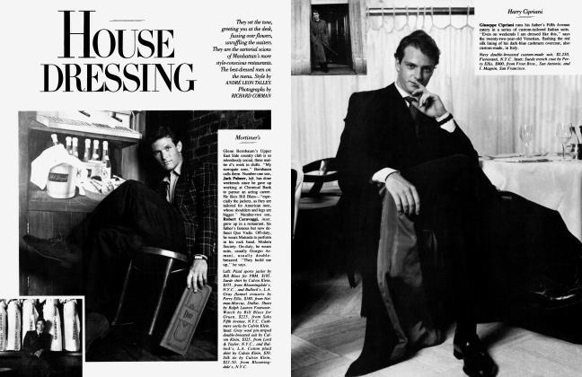 Article Preview: HOUSE DRESSING, September 1986 1986 | Vanity Fair