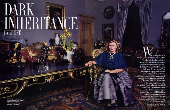 Article Preview: DARK INHERITANCE, PART ONE, October 1986 1986 | Vanity Fair