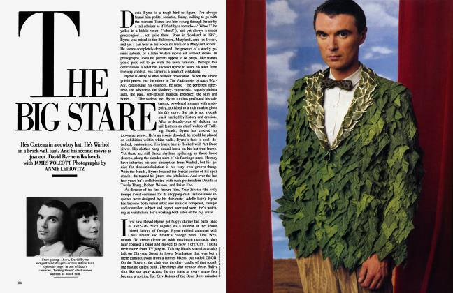 Article Preview: THE BIG STARE, October 1986 | Vanity Fair