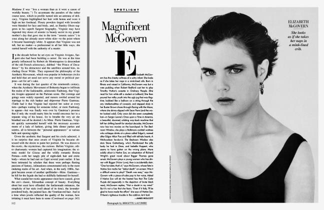 Article Preview: Magnificent McGovern, October 1986 1986 | Vanity Fair