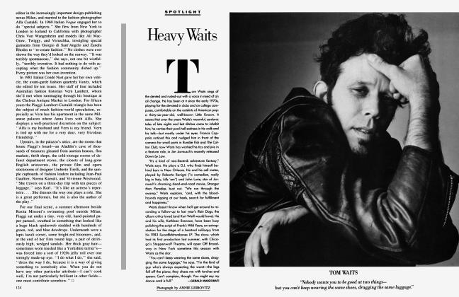 Article Preview: Heavy Waits, October 1986 1986 | Vanity Fair