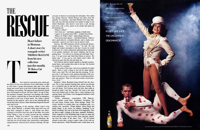 Article Preview: THE RESCUE, October 1986 1986 | Vanity Fair