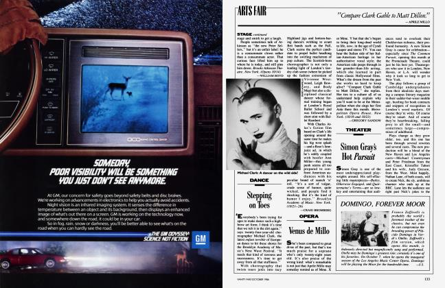 Article Preview: DOMINGO, FOREVER MOOR, October 1986 1986 | Vanity Fair