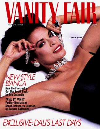 November 1986 | Vanity Fair