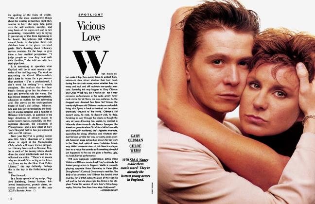 Article Preview: Vicious Love, November 1986 1986 | Vanity Fair