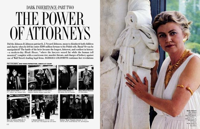 Article Preview: THE POWER OF ATTORNEYS, November 1986 1986 | Vanity Fair