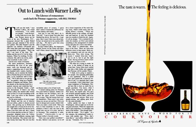 Article Preview: Out to Lunch with Warner LeRoy, November 1986 1986 | Vanity Fair