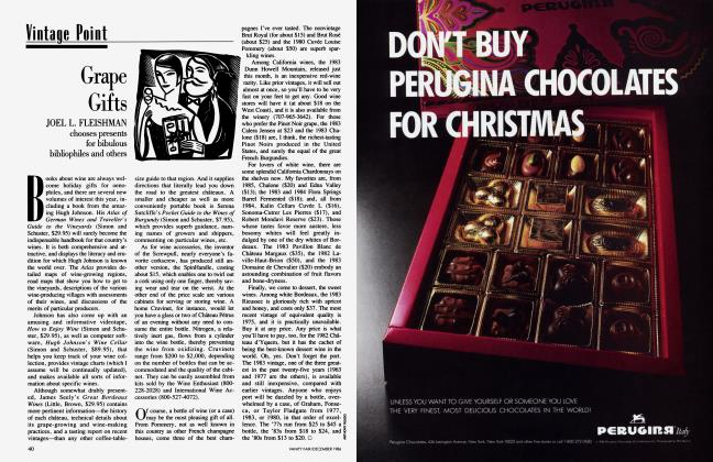 Article Preview: Grape Gifts, December 1986 1986 | Vanity Fair