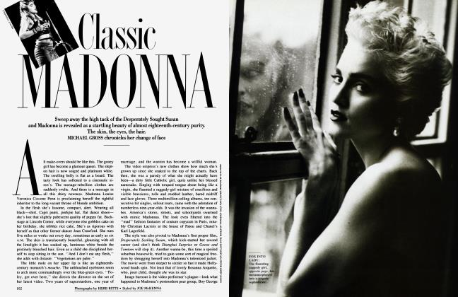 Article Preview: CLASSIC MADONNA, December 1986 1986 | Vanity Fair