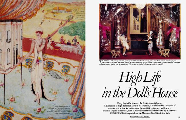 Article Preview: High Life in the Doll's House, December 1986 1986 | Vanity Fair