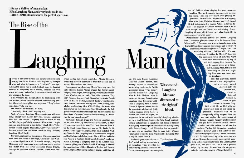 The Rise of the Laughing Man