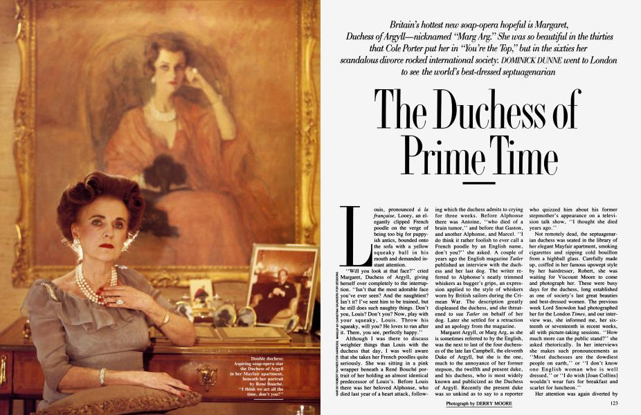 The Duchess of Prime Time