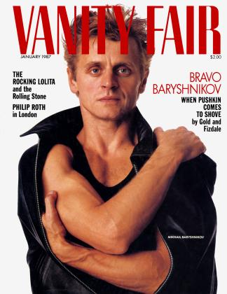 Cover for the January 1987 issue