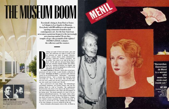 THE MUSEUM BOOM
