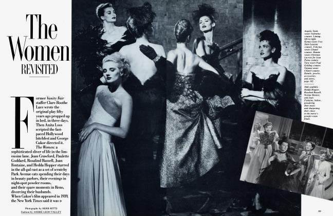 Article Preview: The Women REVISITED, January 1987 1987 | Vanity Fair