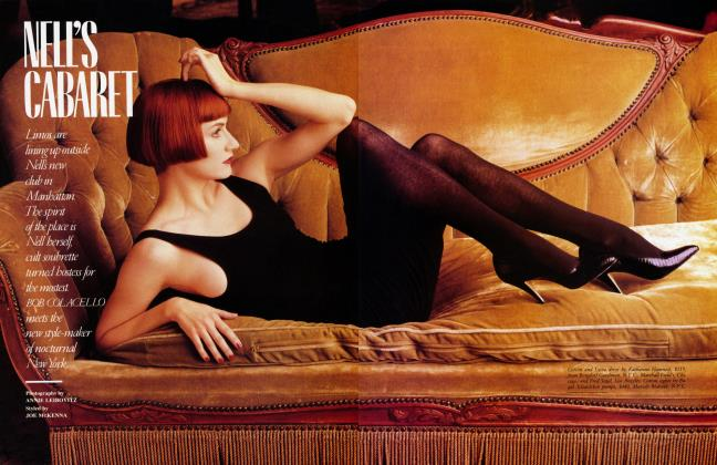 Article Preview: NELL'S CABARET, February 1987 1987   Vanity Fair