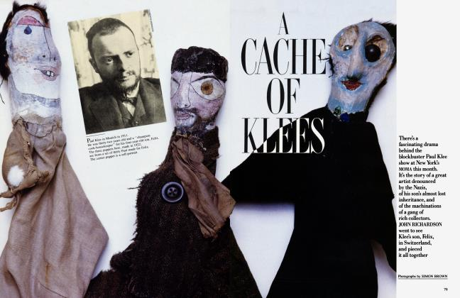 Article Preview: A CACHE OF KLEES, February 1987 1987 | Vanity Fair