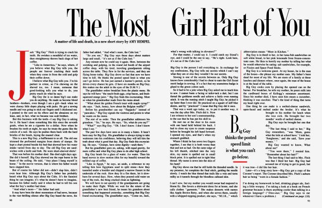 Article Preview: The Most Girl Part of You, February 1987 | Vanity Fair