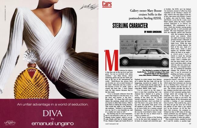 Article Preview: STERLING CHARACTER, March 1987 1987 | Vanity Fair