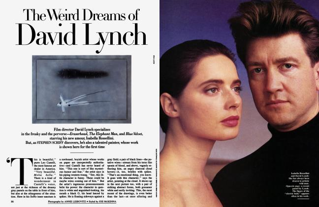 Article Preview: The Weird Dreams of David Lynch, March 1987 1987 | Vanity Fair