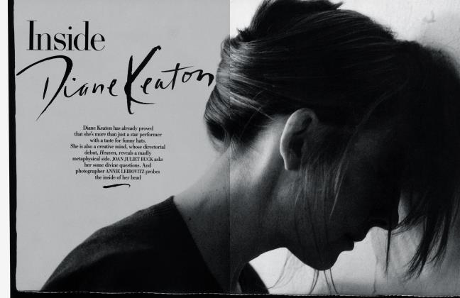 Article Preview: Inside Diane Keaton, March 1987 1987 | Vanity Fair