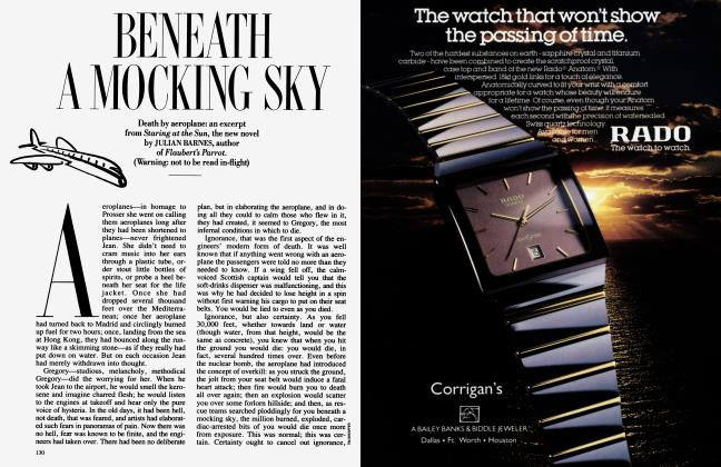 Article Preview: BENEATH A MOCKING SKY, March 1987 1987 | Vanity Fair