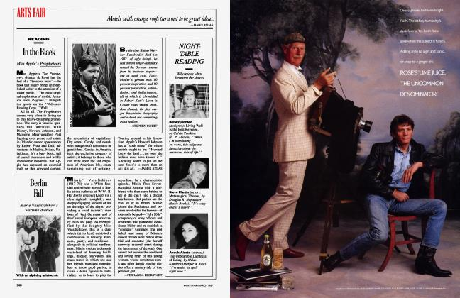 Article Preview: In the Black, March 1987 1987 | Vanity Fair