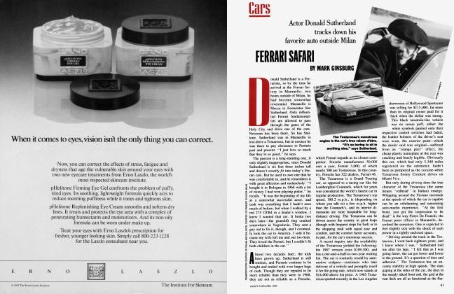 Article Preview: FERRARI SAFARI, April 1987 1987 | Vanity Fair