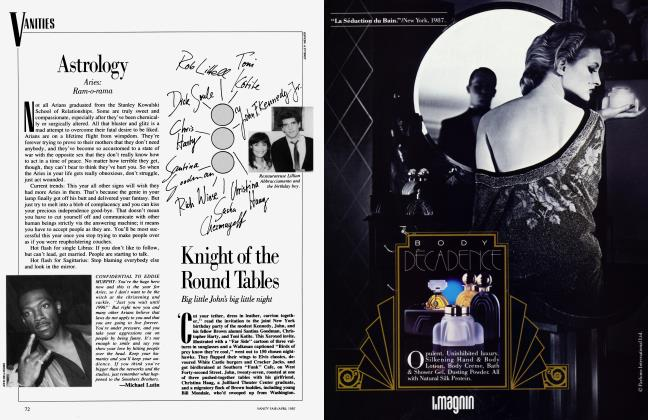 Article Preview: Knight of the Round Tables, April 1987 1987 | Vanity Fair