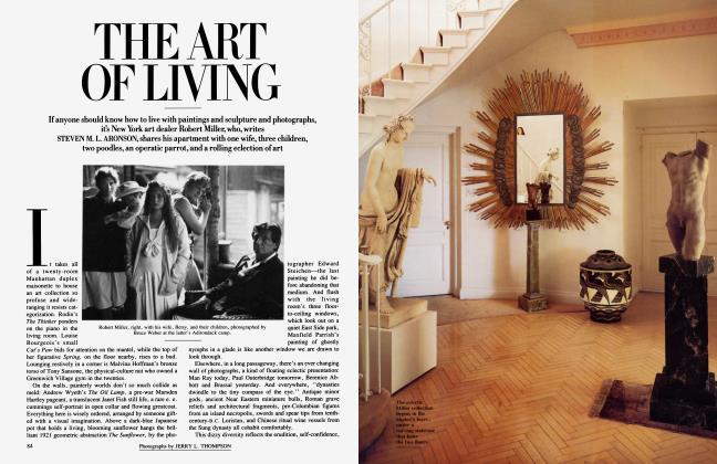 Article Preview: THE ART OF LIVING, April 1987 1987 | Vanity Fair