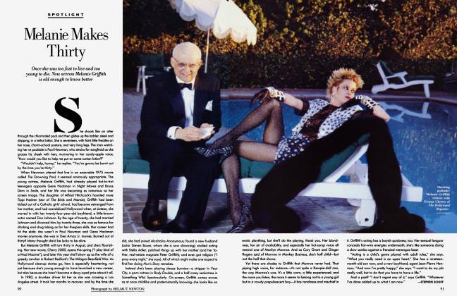 Article Preview: Melanie Makes Thirty, April 1987 1987 | Vanity Fair
