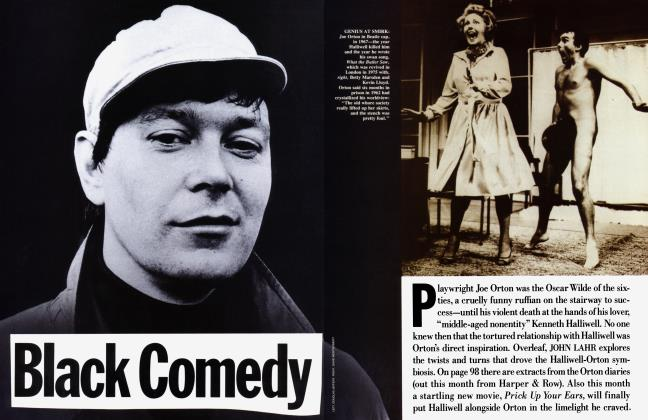 Article Preview: Black Comedy, April 1987 | Vanity Fair