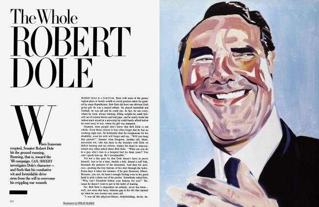 Article Preview: The Whole ROBERT DOLE, April 1987 | Vanity Fair