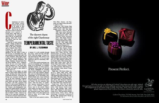 Article Preview: TEMPERAMENTAL TASTE, May 1987 1987 | Vanity Fair